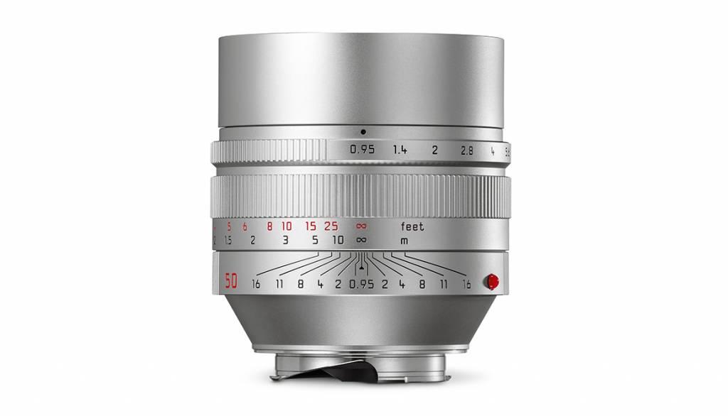 Leica NOCTILUX-M 50mm f/0.95 ASPH., silver