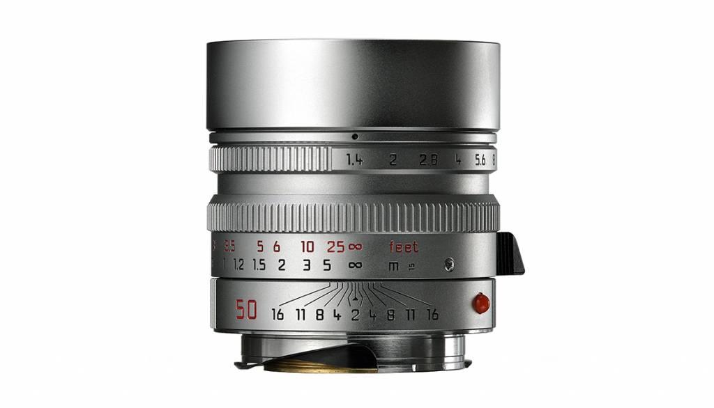 Leica SUMMILUX-M 50mm f/1.4 ASPH., silver