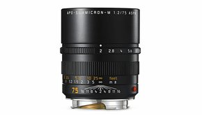 Leica Leica APO-SUMMICRON-M 75mm f/2 ASPH., black