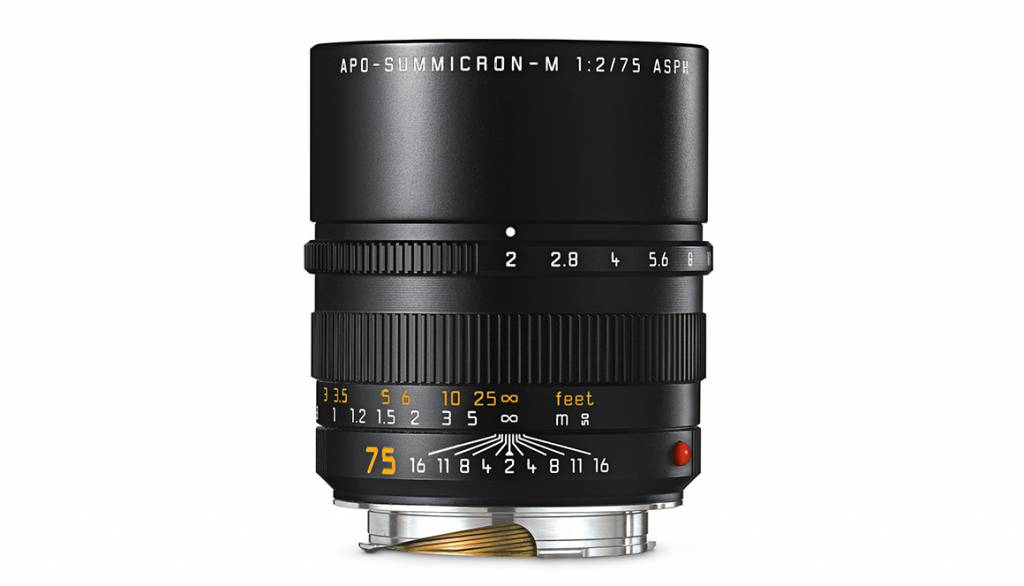 Leica APO-SUMMICRON-M 75mm f/2 ASPH., black