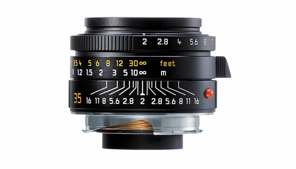 Leica SUMMICRON-M 35mm f/2 ASPH., black