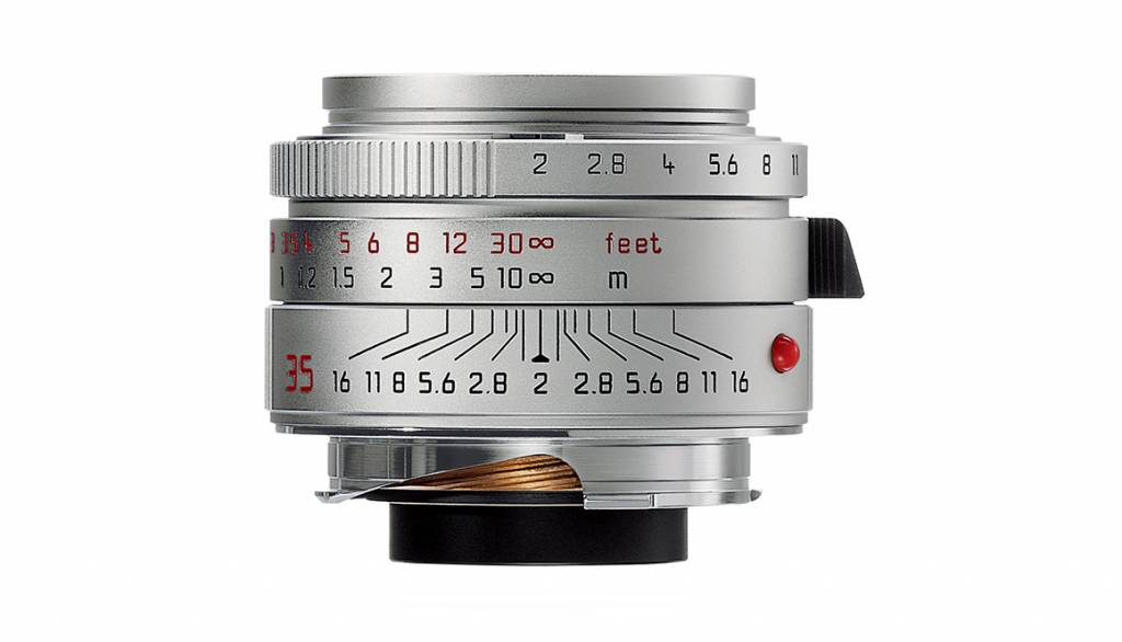 Leica SUMMICRON-M 35mm f/2 ASPH., silver
