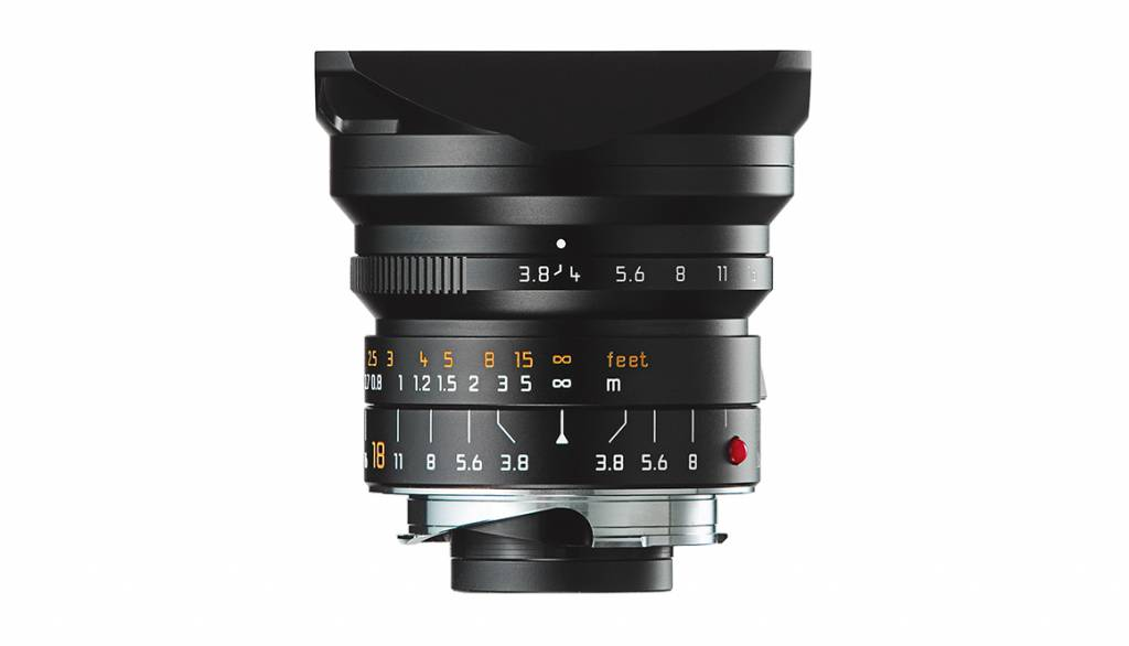 Leica SUPER-ELMAR-M 18mm f/3.8 ASPH., black