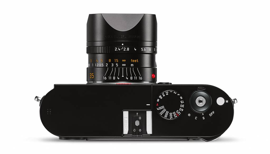 Leica SUMMARIT-M 35mm f/2.4 ASPH., black