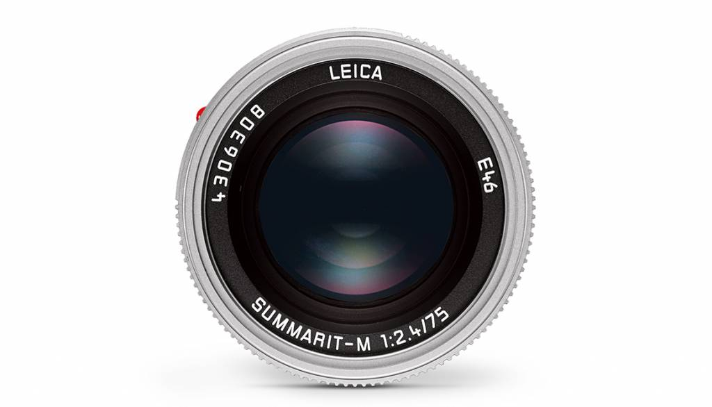 Leica SUMMARIT-M 75mm f/2.4, silver