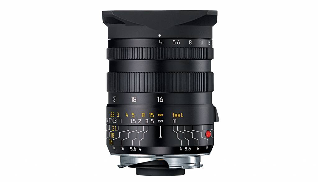 Leica TRI-ELMAR-M 16-18-21mm f/4 with Universal WA Finder M