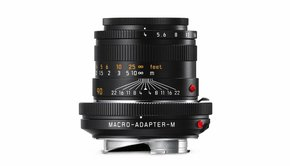 Leica Leica MACRO SET- M 90mm f/4, Angle Finder M, Macro-Adapter M, black