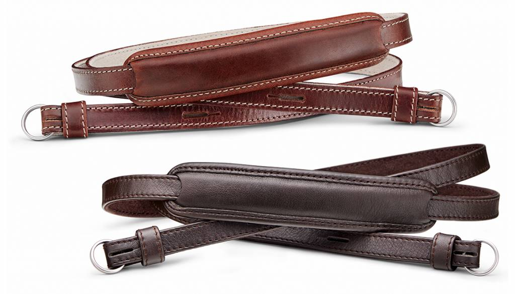 Leica Carrying Strap, M / Q / X-system, leather, darkbrown