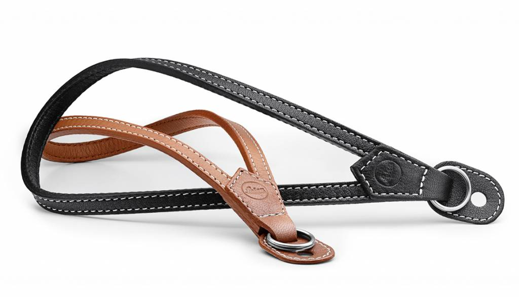 Leica Wrist Strap with protecting flap, M / Q / X-system, leather, black