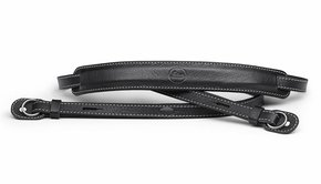 Leica Leica Carrying Strap with protecting flap, M / Q / X-system, leather, black