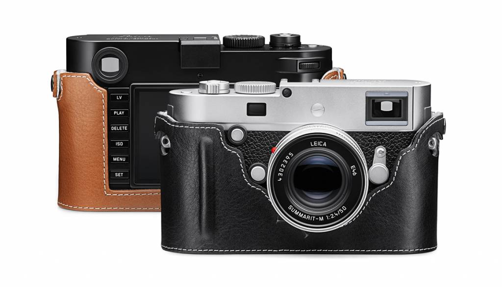 Leica Camera Protector, M/M-P (Typ 240), leather, cognac