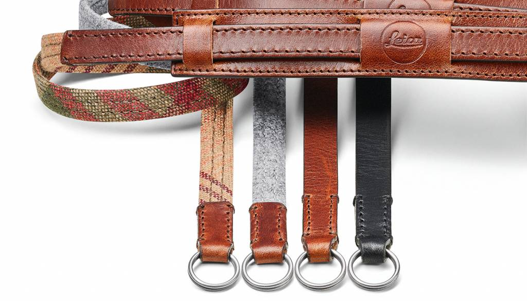 Leica Neck Strap Lifestyle, leather/fabric, grey