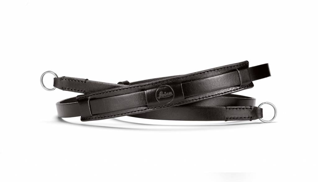 Leica Neck Strap Vintage, CL, leather, black