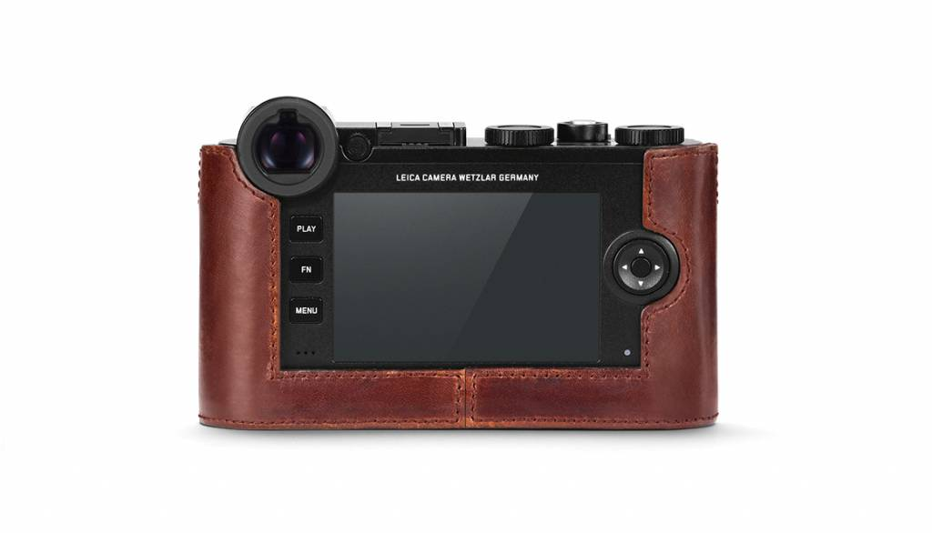 Leica Protector CL, leather, brown