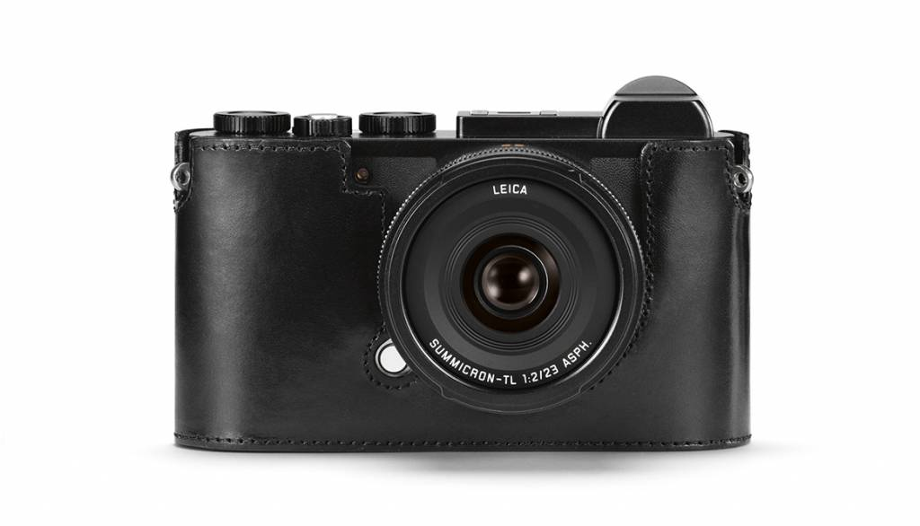 Leica Protector CL, leather, black