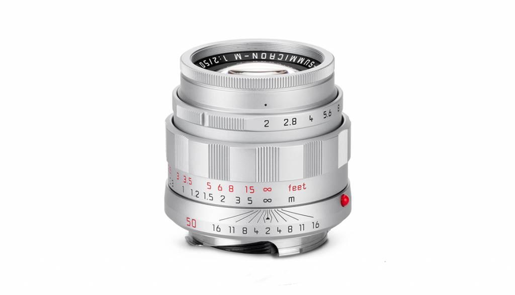 """Leica APO-SUMMICRON-M 50mm f/2 ASPH """"LHSA Edition"""", silver"""
