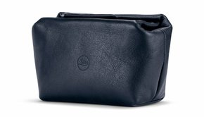 Leica Leica Soft Pouch, C-LUX, size S, leather, blue