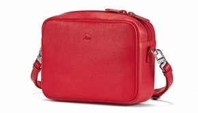 Leica Leica Bag Andrea, C-LUX, leather, red