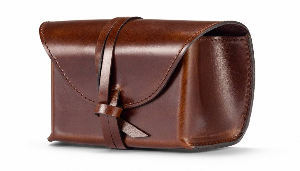 Leica Vintage Pouch, C-LUX, leather, vintage brown