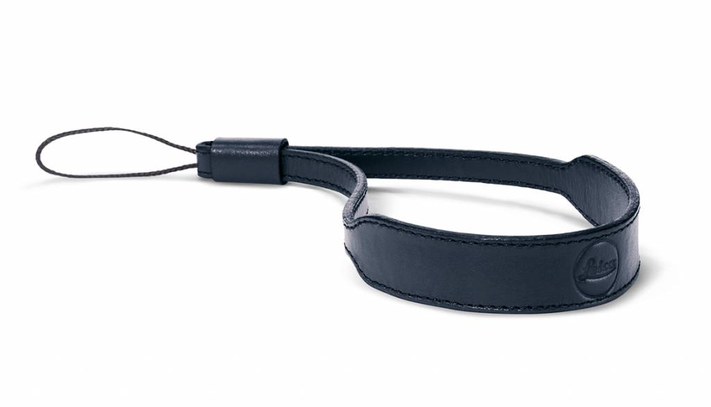 Leica Wrist Strap, C-LUX, leather, blue