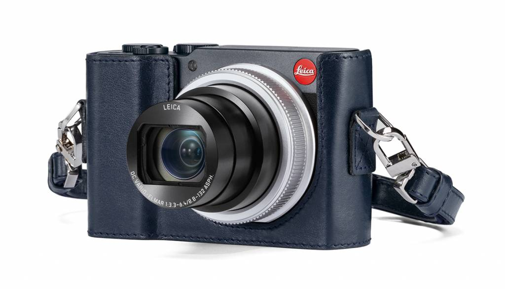 Leica Protector, C-LUX, leather, blue