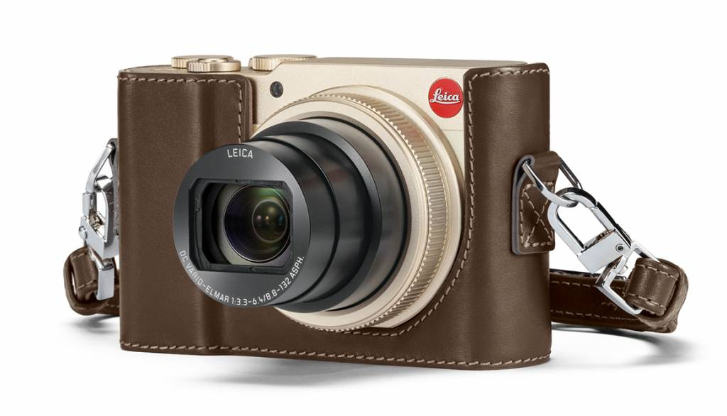Leica Protector, C-LUX, leather, taupe