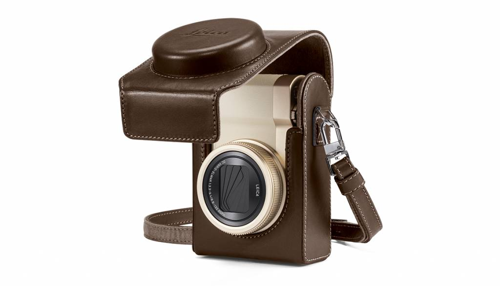 Leica Case, C-LUX, leather, taupe