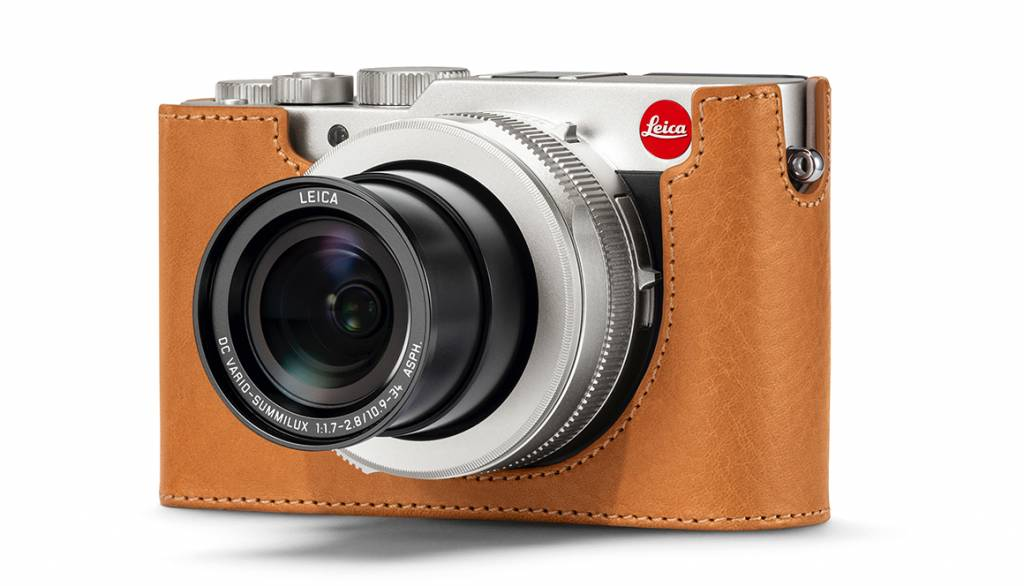 Leica Protector, D-LUX 7, leather, brown