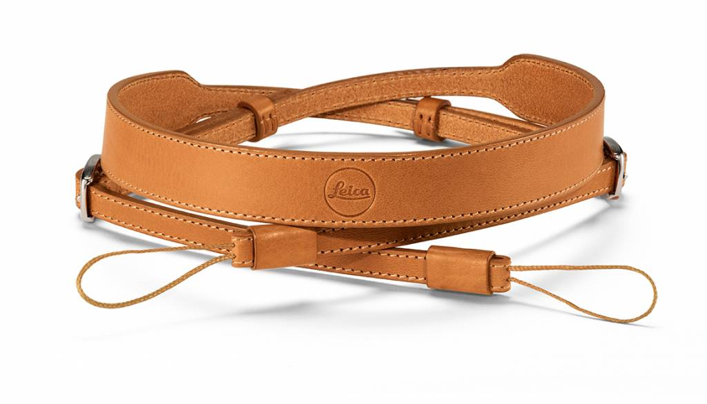 Leica Carrying Strap, D-Lux 7, leather, brown