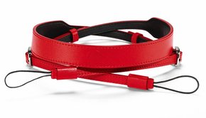 Leica Leica Carrying Strap, D-Lux 7, leather, red