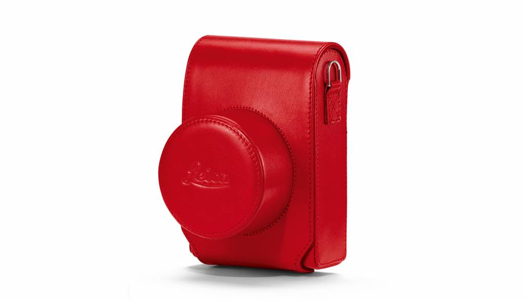 Leica Case D-LUX 7, leather, red