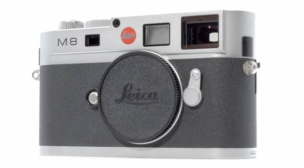 Leica M8, silver chrome finish, Used