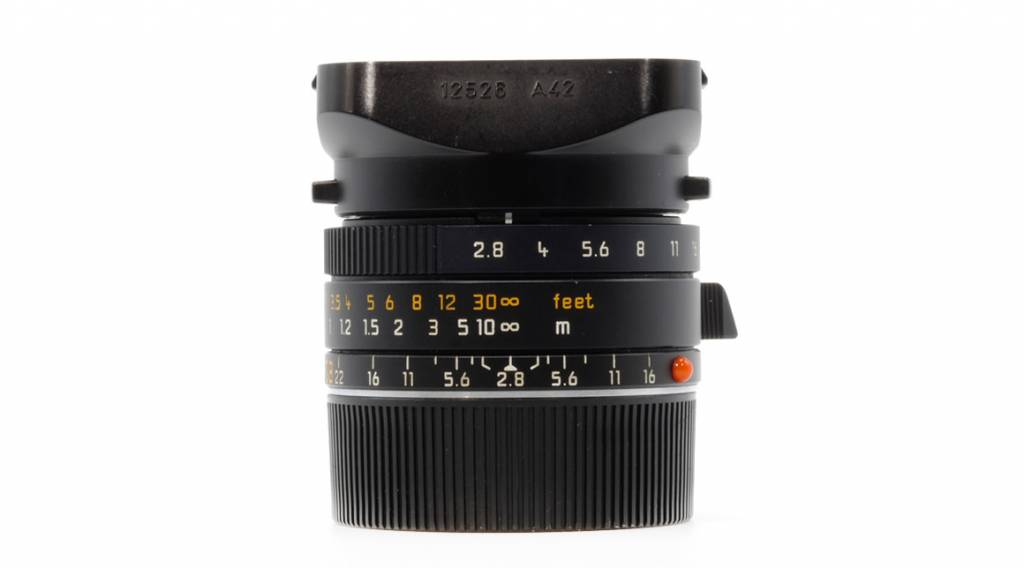 Leica ELMARIT-M 28mm f/2.8 ASPH, Used