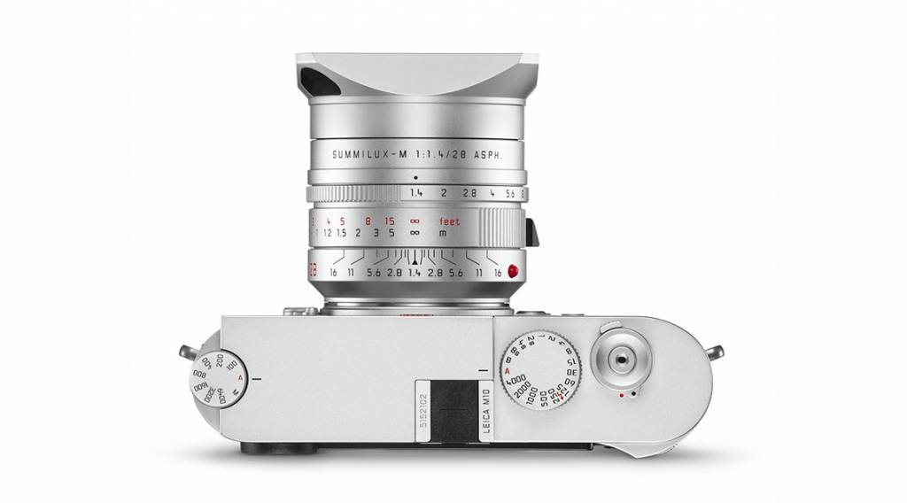 Leica SUMMILUX-M 28mm f/1.4 ASPH., silver anodized finish