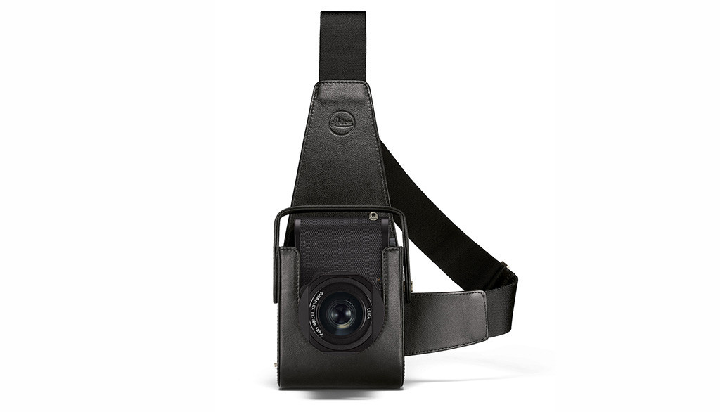 Leica Holster Q2, leather, black