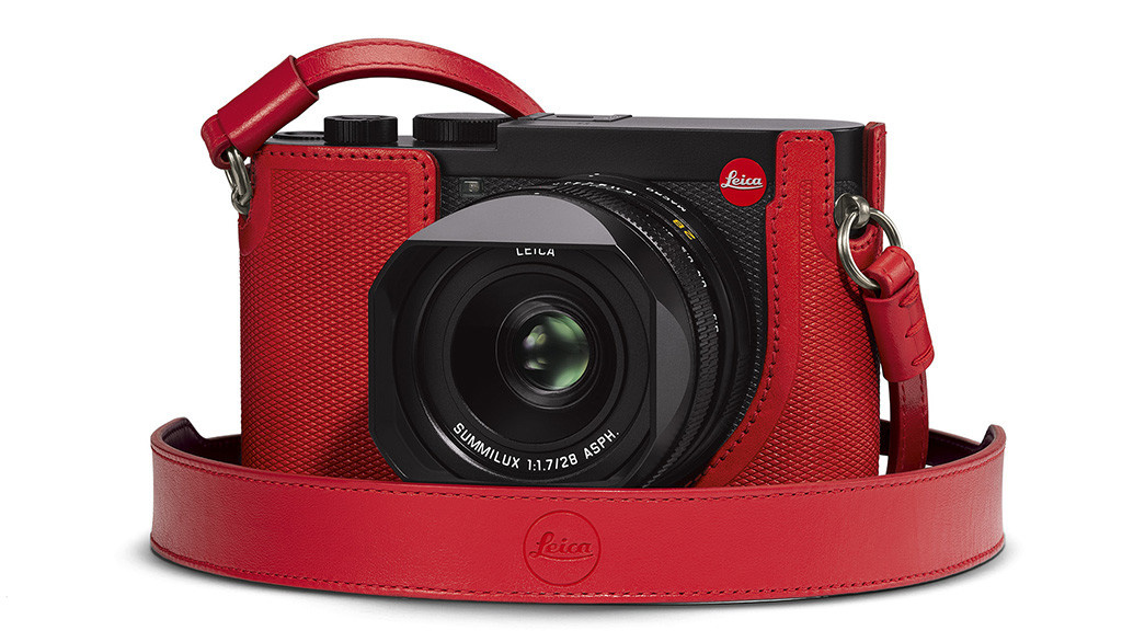 Leica Carrying Strap, Q2, red