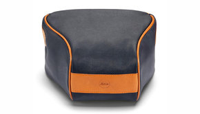 Leica Leica Q2, Ettas Pouch, coated canvas, midnight blue