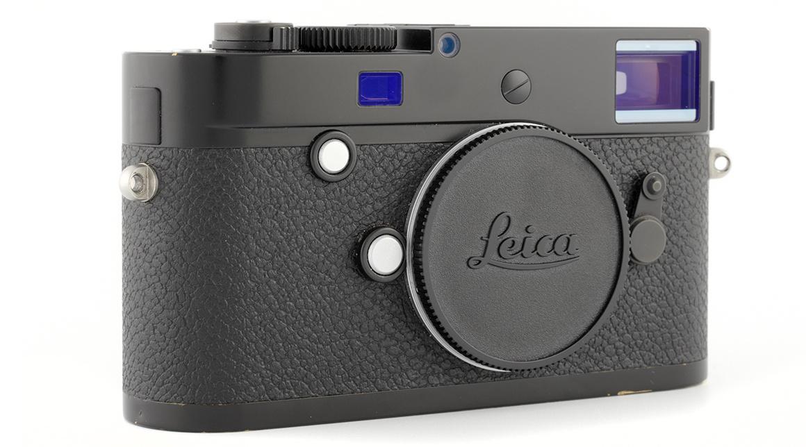 Leica M-P (typ 240), black paint finish, Used