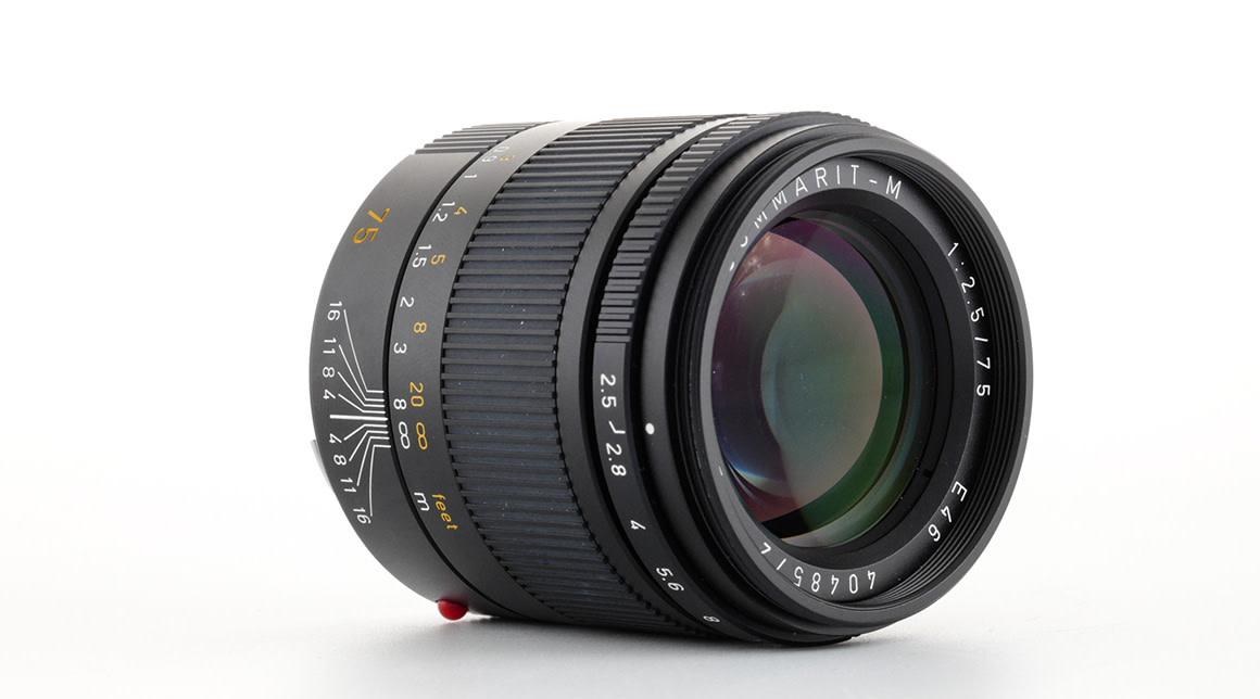 Leica SUMMARIT-M 75mm F/2.5, Used