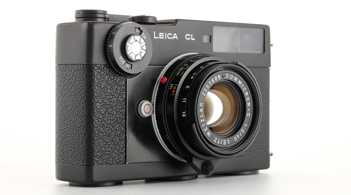 Leica CL body + Leica Summicron 40mm kit, Used