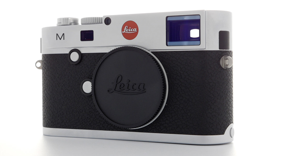 Leica M (typ 240),  Silver Chrome Finish, Used