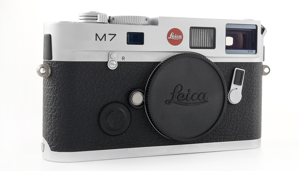 Leica M7 0.72, silver chrome finish, Used