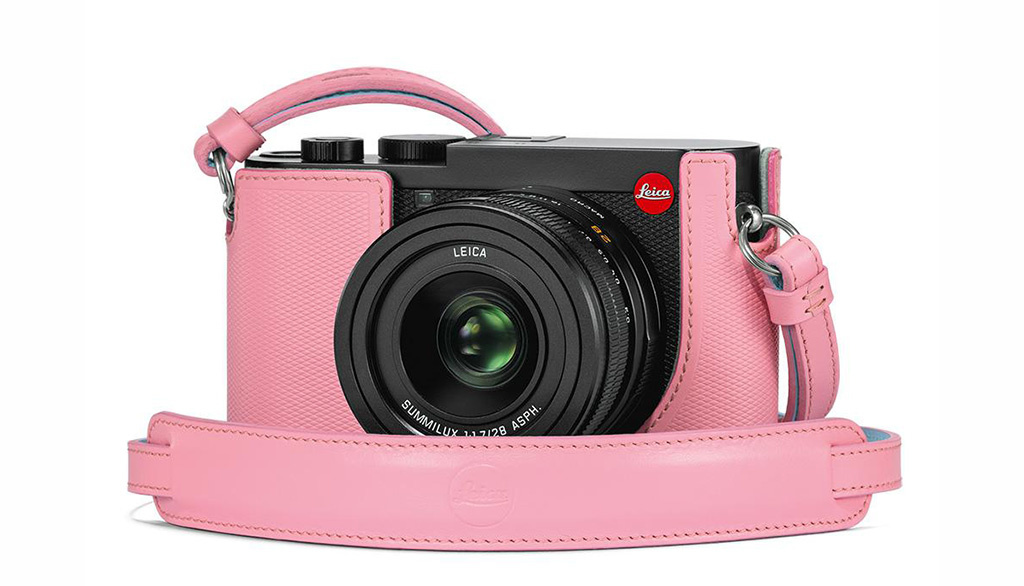 Leica Carrying Strap, Q2, pink