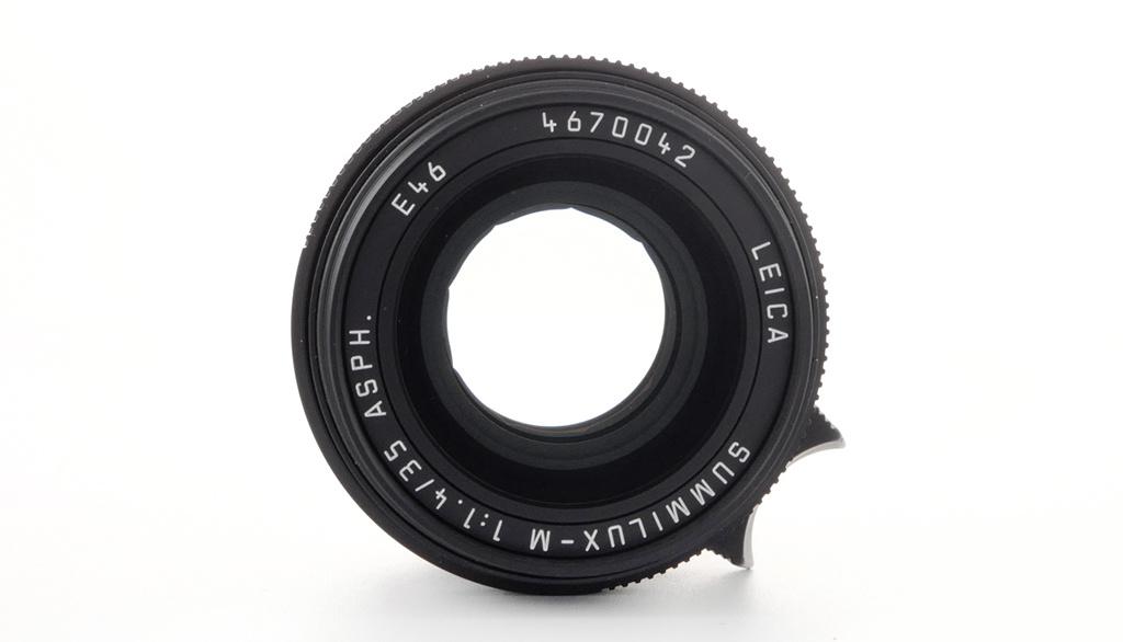 Leica SUMMILUX-M 35mm f/1.4 ASPH., black, Used