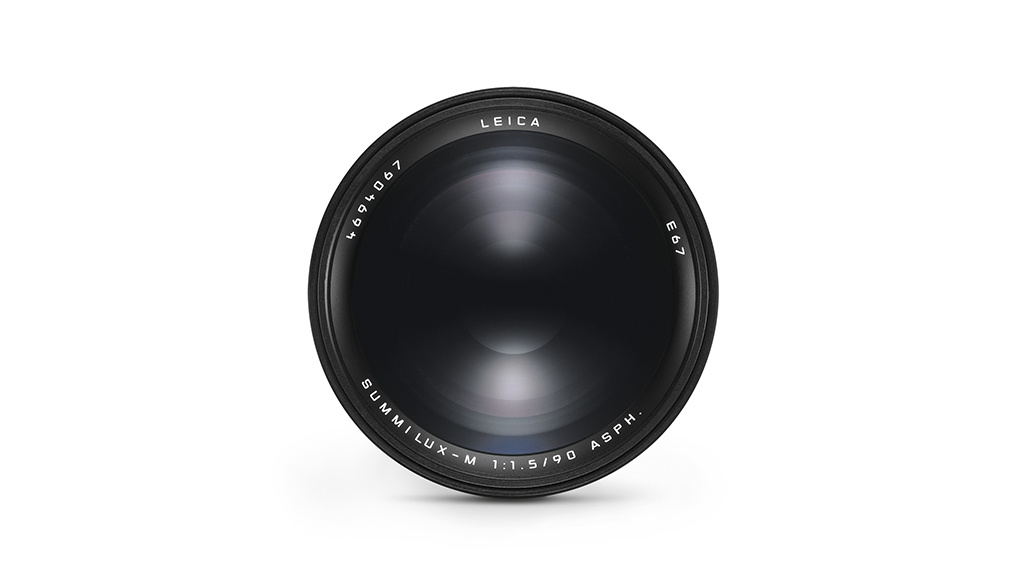 Leica SUMMILUX-M 90mm f/1.5 ASPH., black anodized finish