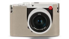 Leica Leica Protector, Q (Typ 116), leather, cemento