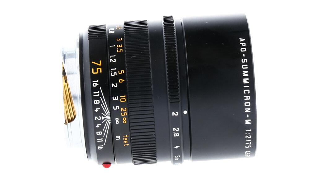 Leica APO-SUMMICRON-M 75mm f/2 ASPH., Used