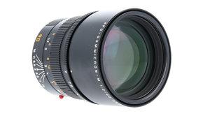 Leica Leica APO-SUMMICRON-M 90mm, f/2 ASPH., Black, Used