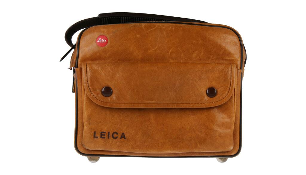 Leica vintage camera bag, Brown, Used