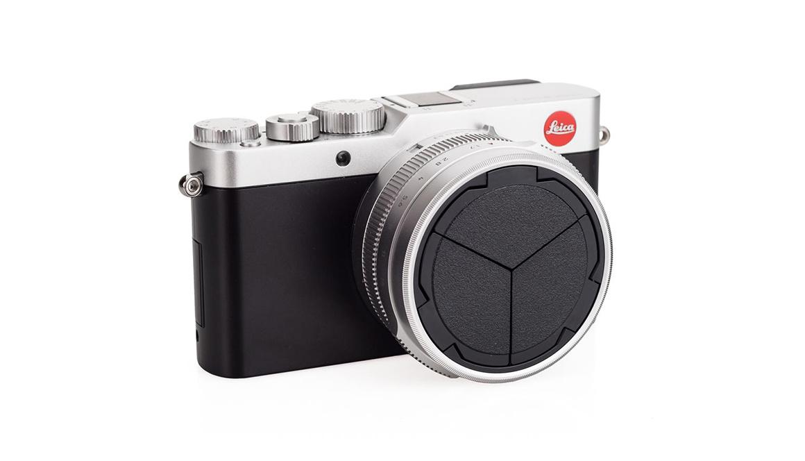 Leica Automatic Lens Cap, D-LUX 7, silver/black